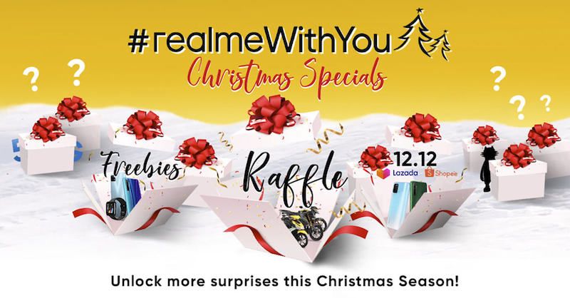 Deal: #realmeWithYou Christmas promo with up to 34 percent discount announced
