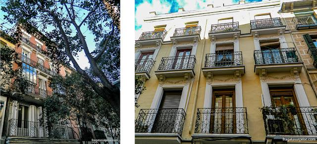 Casarões do bairro de Chueca, Madri