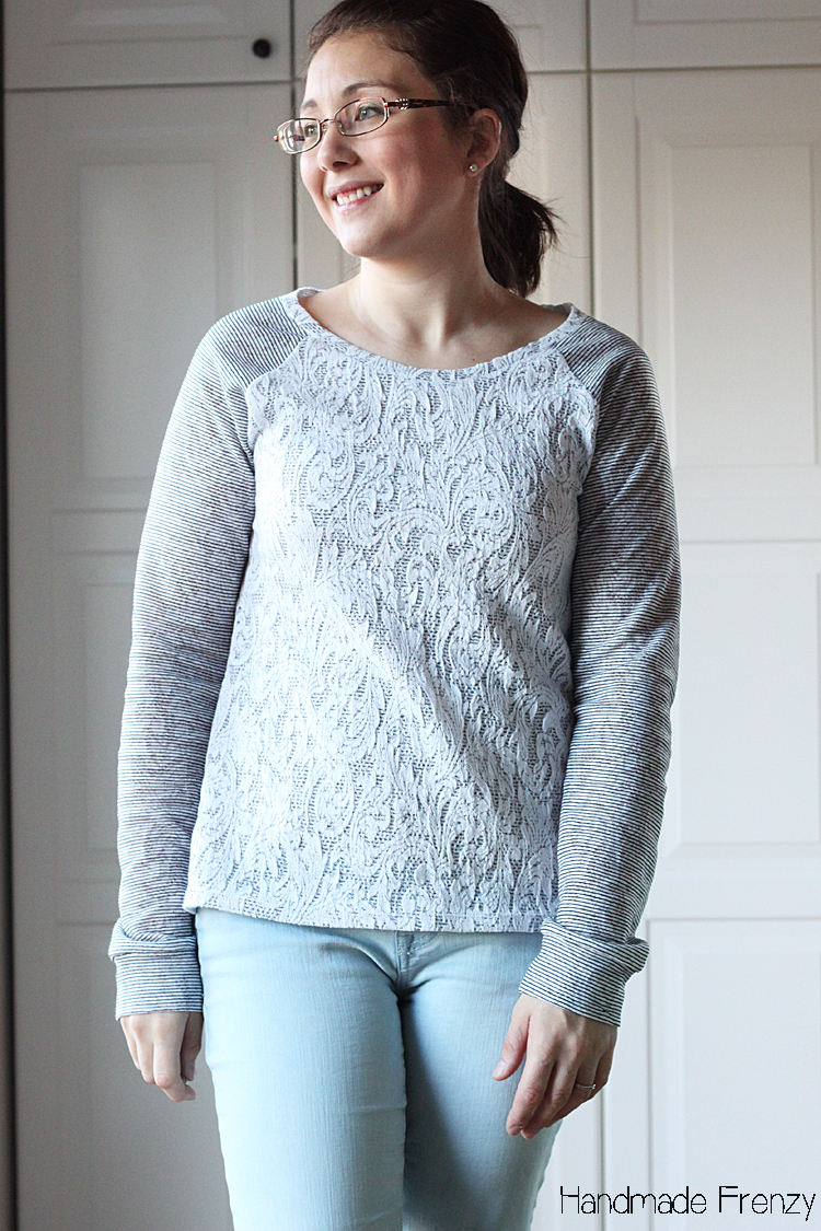 Lane Raglan Sewing Pattern // Lace & Stripes