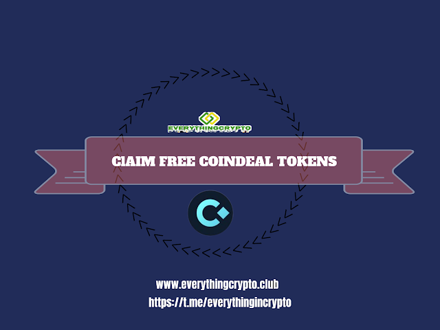 Claim Free Coindeal Tokens