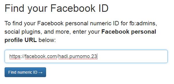 Cara Mendapatkan FB Admin ID, FB App ID untuk Blogger