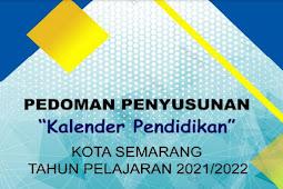 Kalender Pendidikan (Kaldik) 2021/2022 Kota Semarang (PDF)