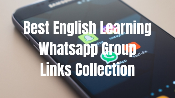 Whatsapp english group 2019