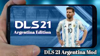 Dream League Soccer 2021 (DLS 21) Latest Argentina Mod Download