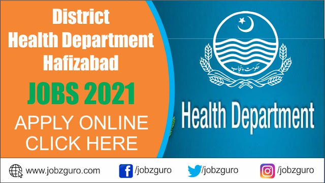 jobs-in-district-health-authority-hafizabad-2021-latest-advertisement