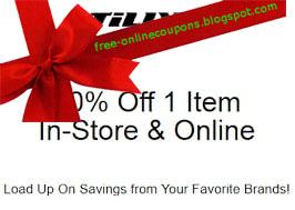 Free Printable Tillys Coupons