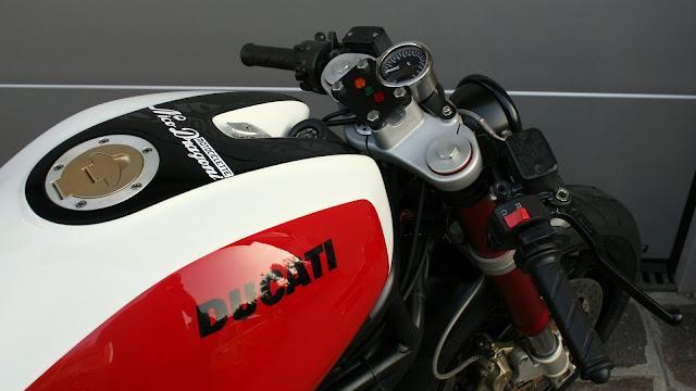 Ducati Monster By Nico Dragoni Motociclette Hell Kustom