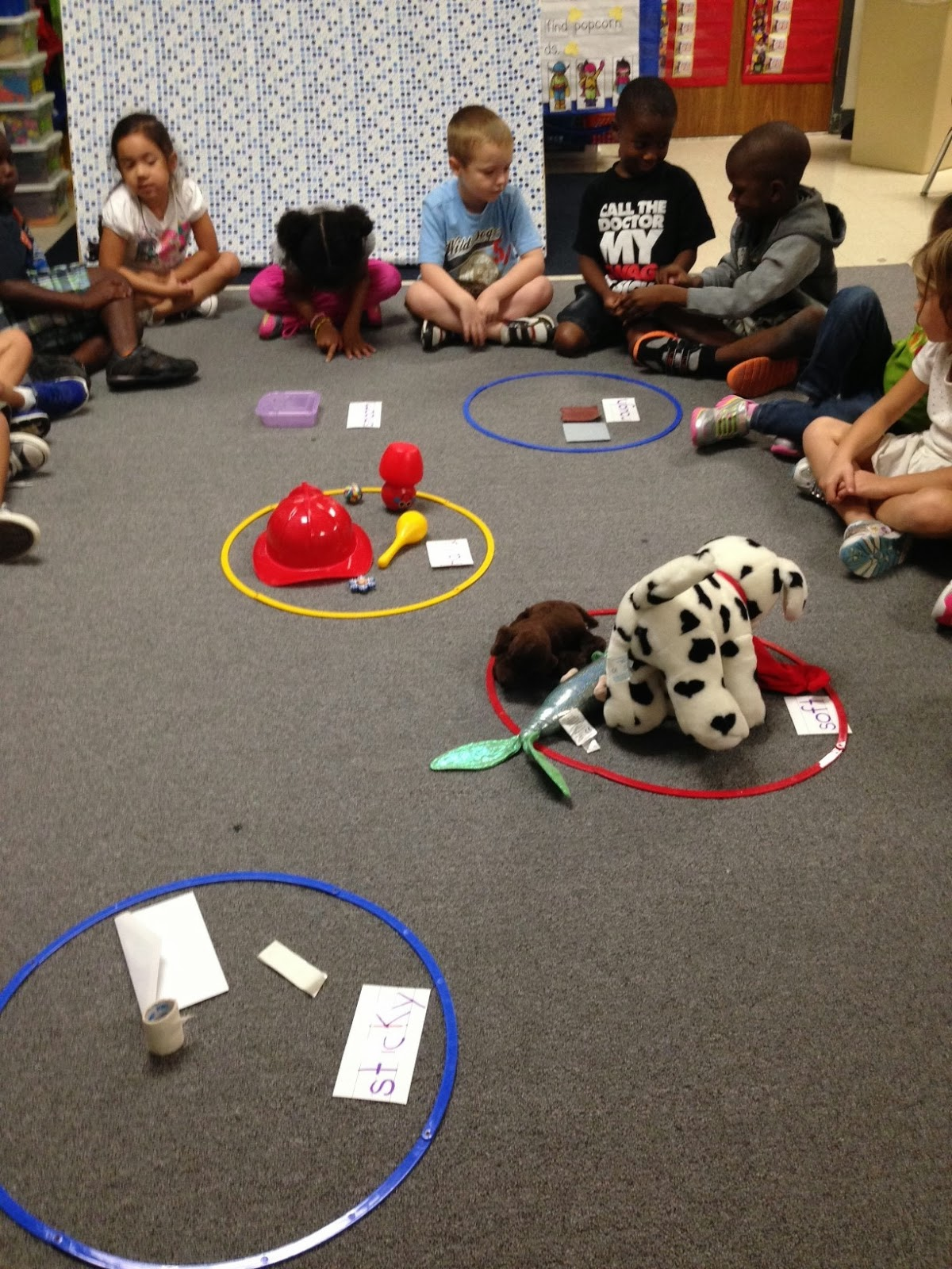 Chalk Talk A Kindergarten Blog Textured Scarecrows