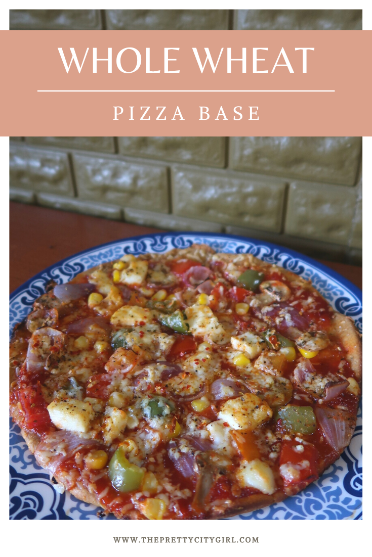 Whole Wheat Pizza Base Without Yeast Without Oven Recipe