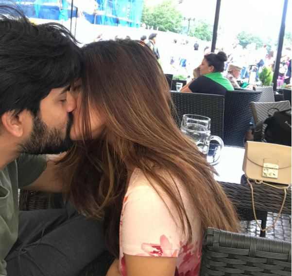 riya sen husband Kiss photo