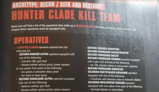 Hunter Clades Adeptus Mechanicus