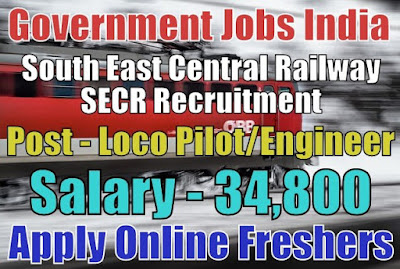 Railway SECR Recruitment 2018