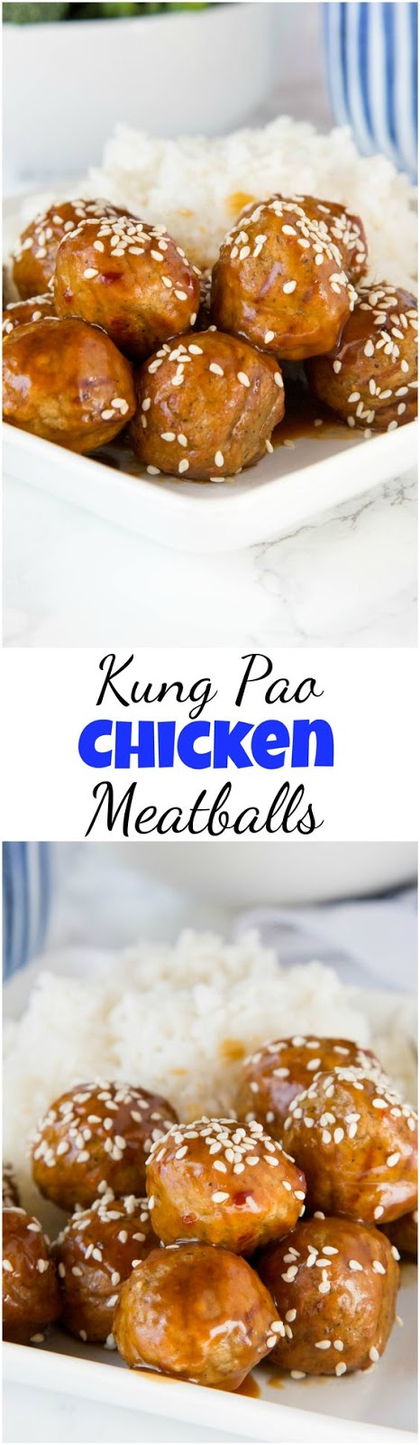 Kung Pao Chicken Meatballs Recipe