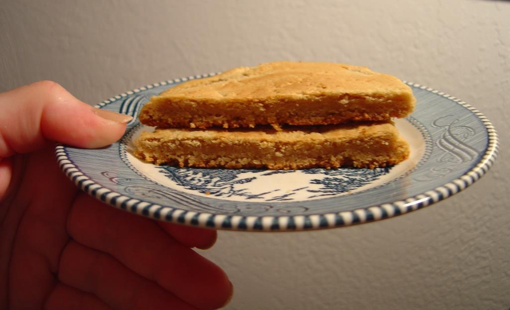 Cut Gooey-Centered Peanut Butter Whopper Cookie
