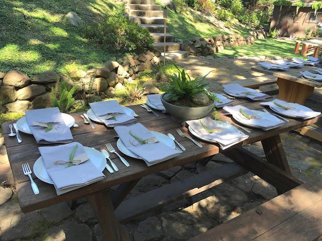 Kinfolk Wedding Style Table