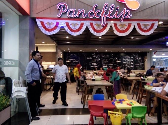 Pan and Flip makan murah dan lezat dengan pelayanan memuaskan