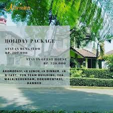 PAKET MENGINAP CIATER HIGHLAND RESORT