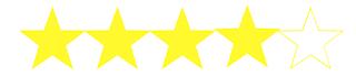 Cuatro estrellas