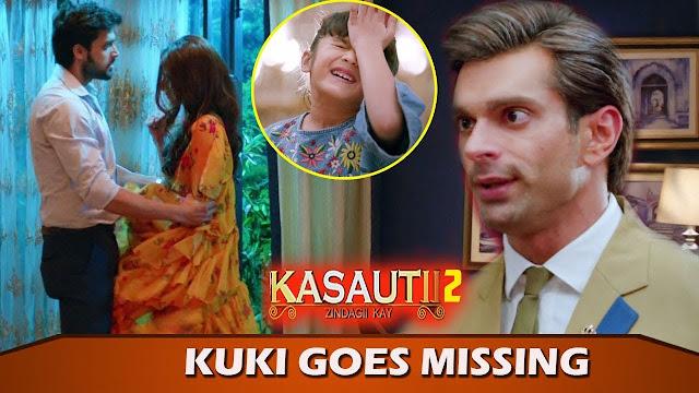What! Kuki's kidnapping brings Anurag amd Prerna closer in Kasauti Zindagi Kay