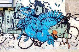 Street Art : Retro Graffitism, art urbain narratif, oeuvre graphique et colorée
