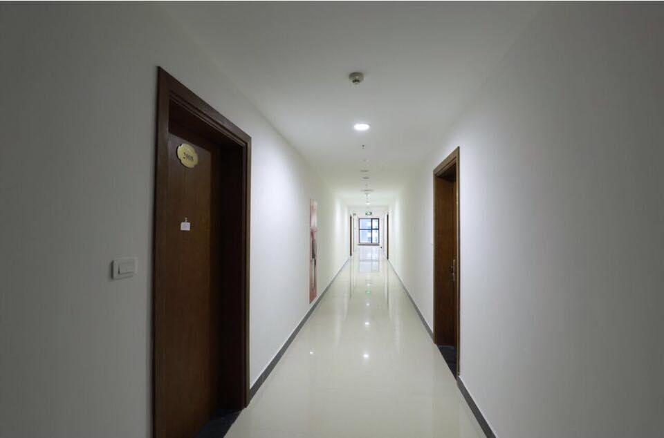 Hành lang căn hộ dự án Goldmark City