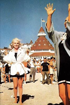 Marilyn Monroe detrás de las cámaras