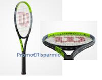 Logo Vinci gratis una bellissima Wilson Blade Racquet