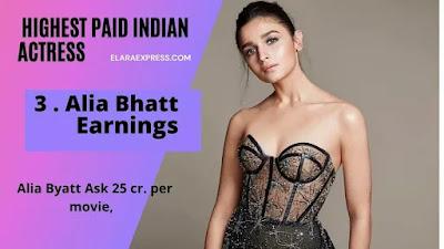 Alia Bhat Earnings per movie