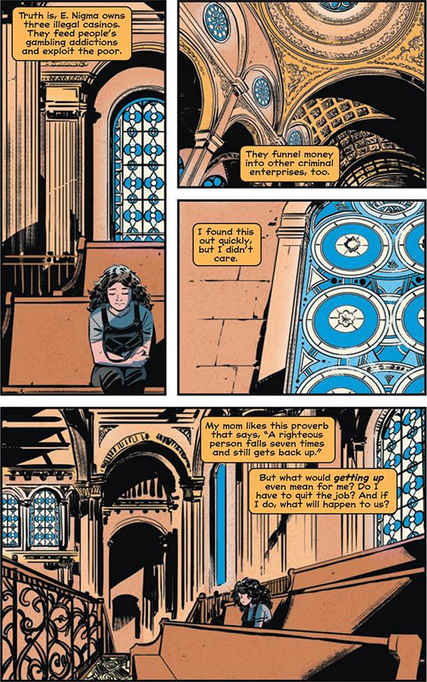 Whistle: A New Gotham City Hero - 4