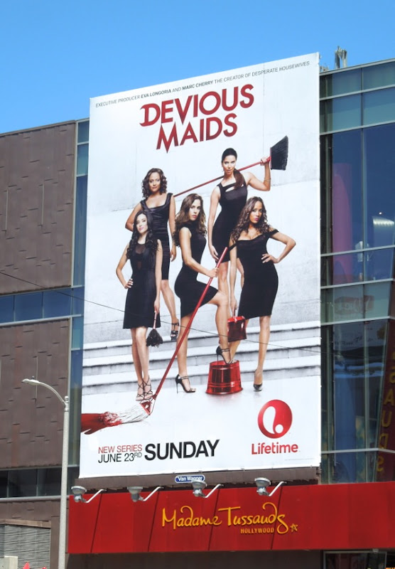 Devious Maids Lifetime billboard