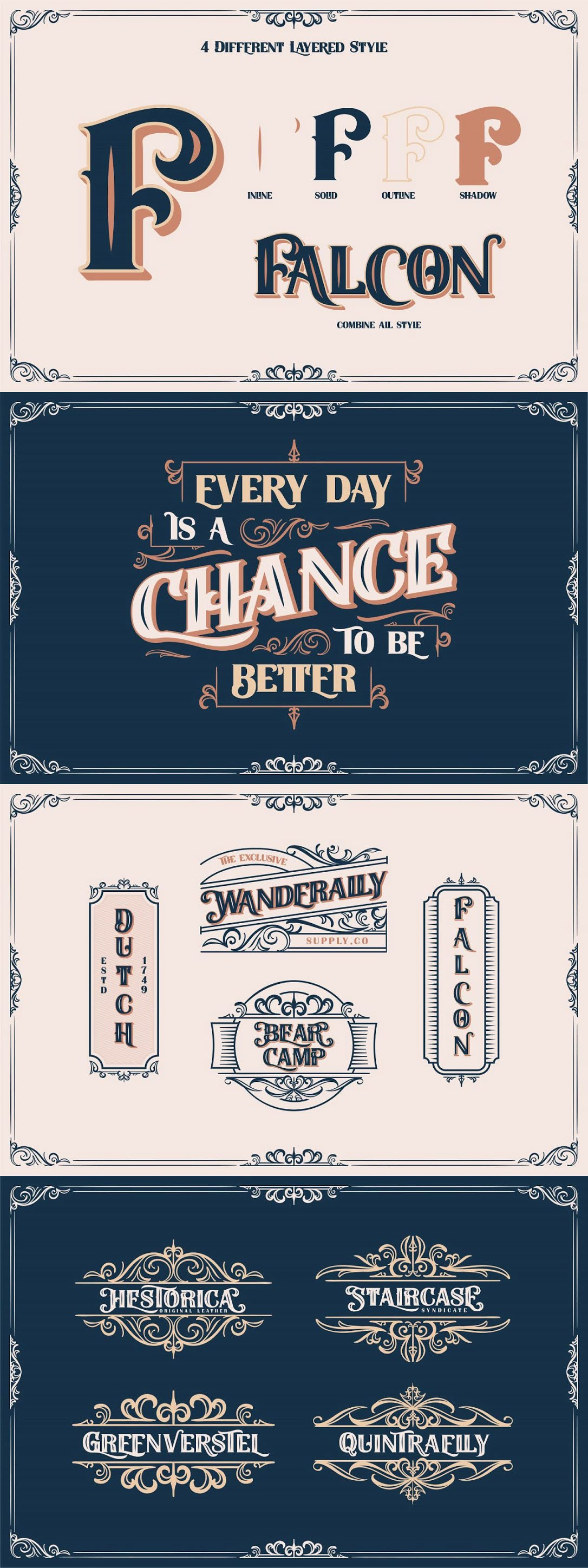 Filedstone Layered Fonts Free Download