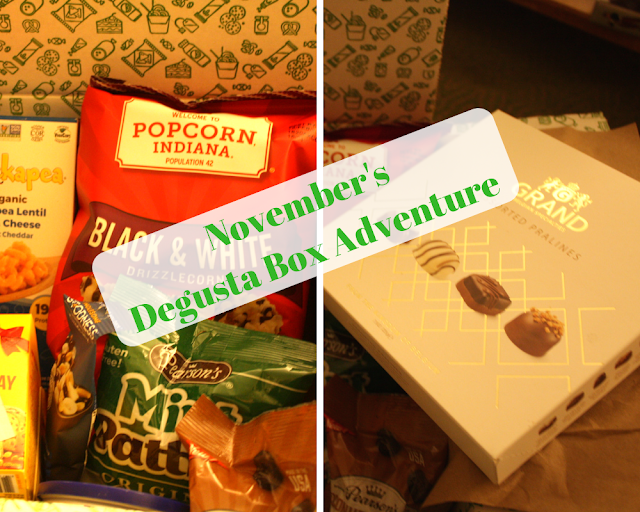 Unveiling November's Degusta Box Goodies and a Coupon!