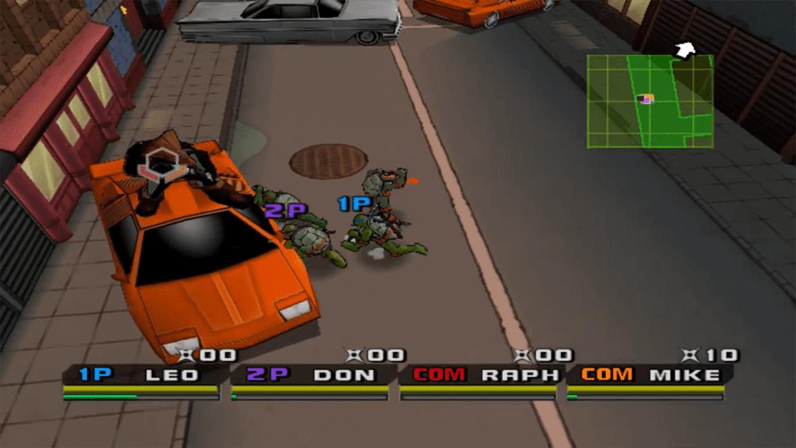 تحميل لعبة سلاحف النينجا 3
