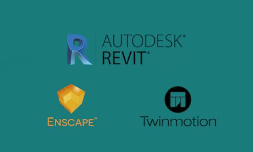 Curso de Autodesk Revit: realidad aumentada AR & realidad virtual VR with Enscape and Twinmotion.Cost Estimation & BIM Quantity Take-off. Rendersfactory (Cursos online Arquitectura, Ingeniería y Construcción)