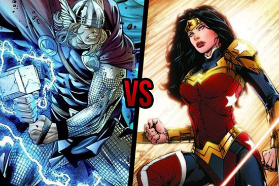 Thor-vs-Wonder-Woman
