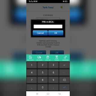 cara ambil uang di ATM BCA tanpa kartu ATM
