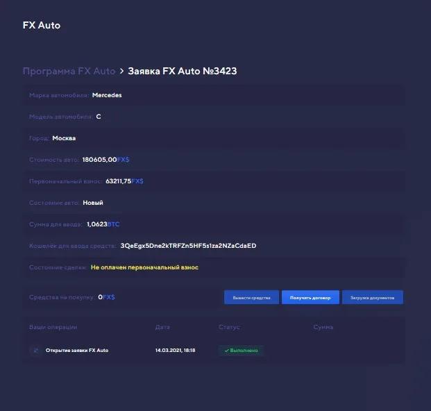 Обзор программы FX Auto1