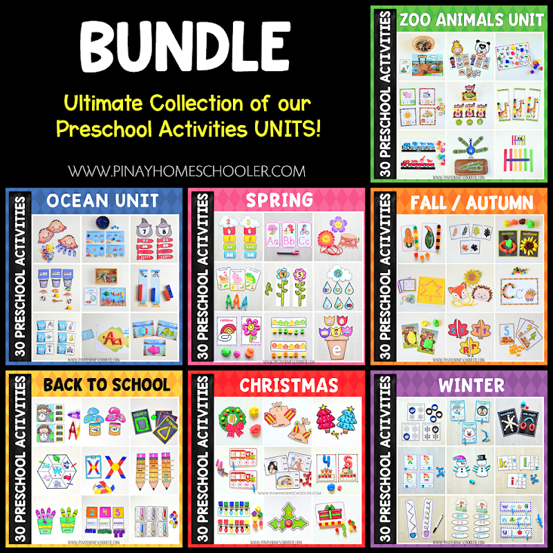 Winter Preschool and Kindergarten Learning Pack