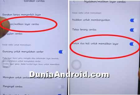 Tips Vivo V9 Mengetuk 2 Kali Untuk Mematikan Layar Dunia Android
