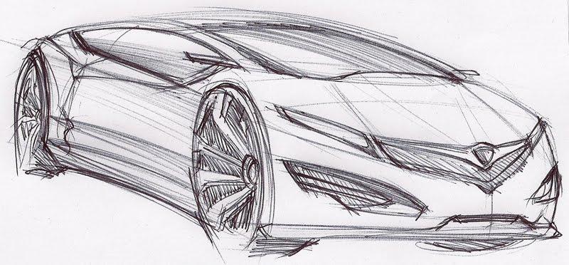 Proton Sport Car Concept Desing Car Fuul Time