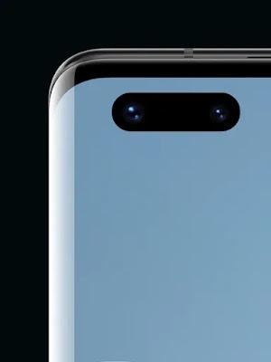الكاميرا الأمامية لهاتف Huawei Mate 40 Pro