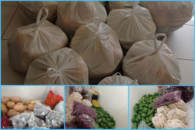 PAA realiza entrega de alimentos para famílias de Dom Basílio