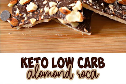 KETO LOW CARB ALMOND ROCA