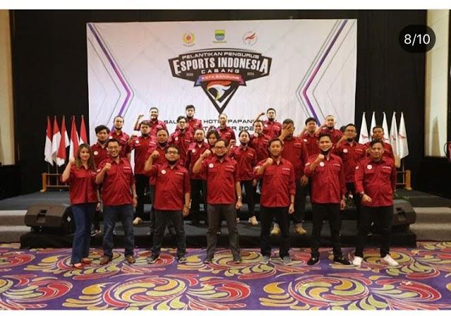 Dandan Riza Wardana Resmi Dilantik Sebagai Ketua Pengcab Esports Indonesia Kota Bandung