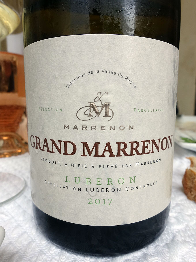 Marrenon Grand Marrenon Blanc 2017 (90 pts)