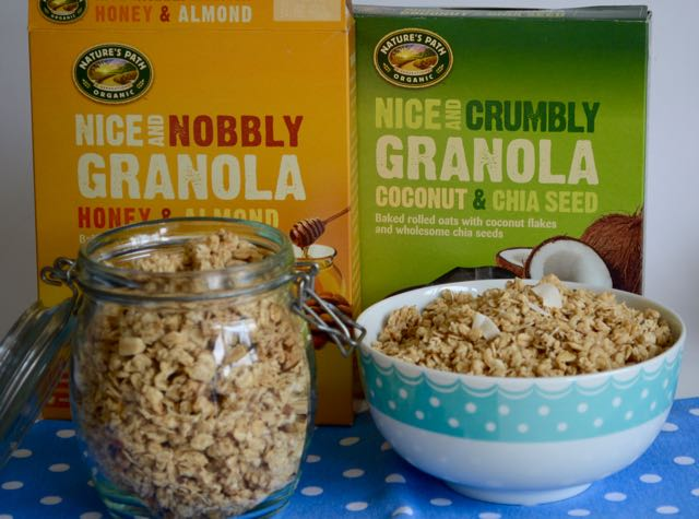 Nature's Path Organic Granola's