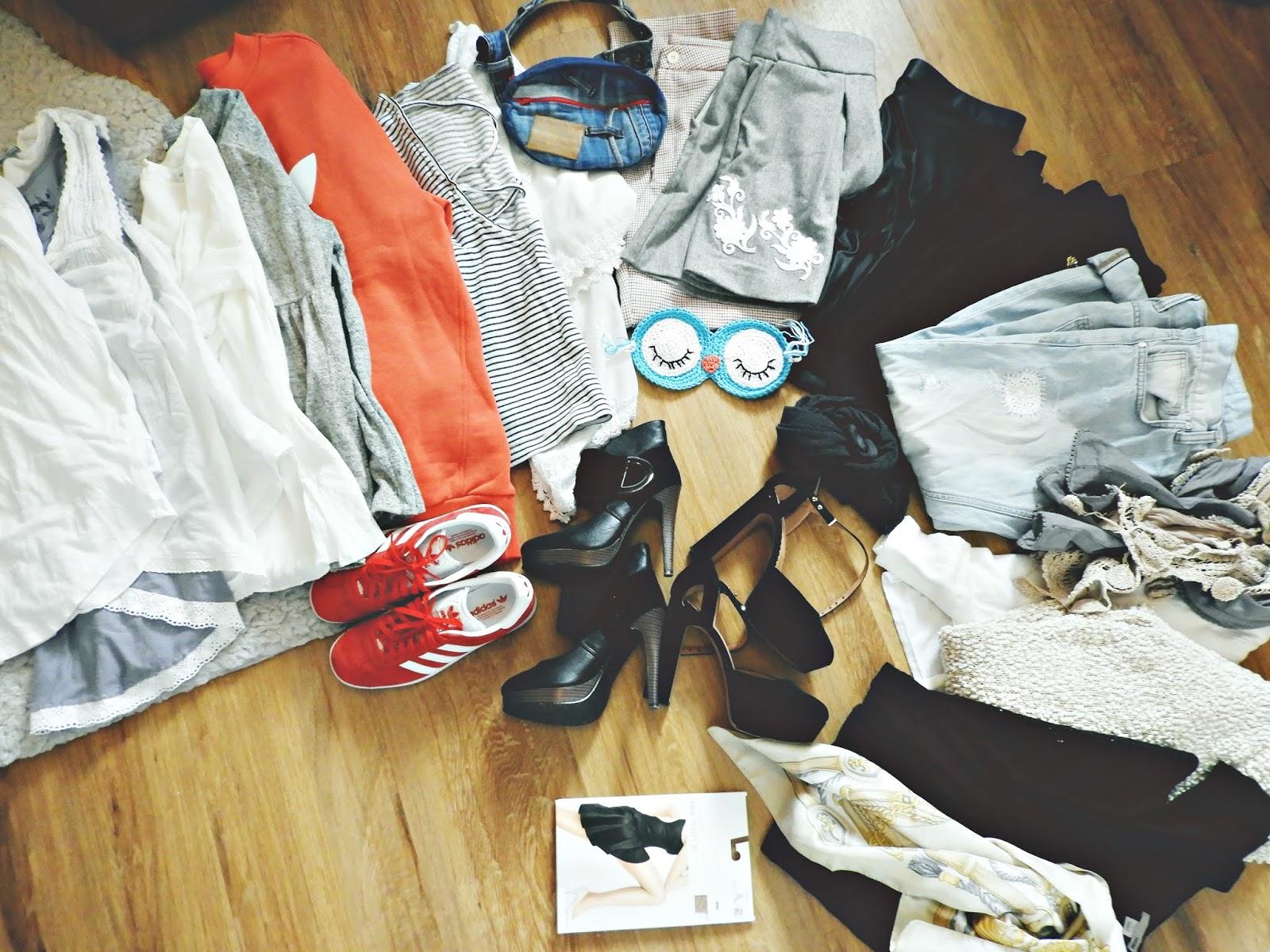 Voiko matkalle ottaa liikaa vaatteita mukaan? VillaNanna