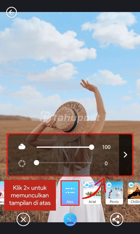 Cara Edit Awan di Lightroom Android