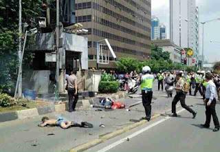 Bom Sarinah Jakarta (Foto-foto digital dikumpulkan dari Whatsapp)