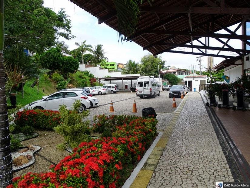 Estacionamento do Resort - Onde ficar em Natal (RN)